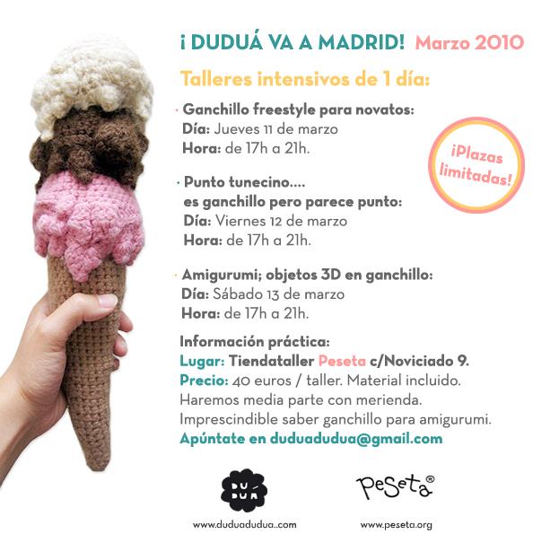 ¡Duduá va a Madrid! Marzo 2010