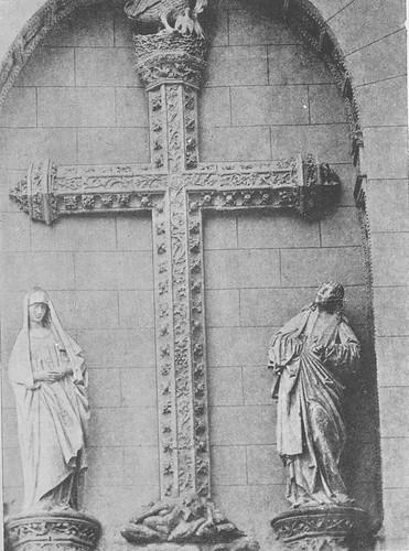 Puerta del Pelícano del Monasterio de San Juan de los Reyes a finales del siglo XIX