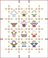 Setting Option 2 (Piecemeal Quilts) Tags: bom basketquiltalong quiltsettings