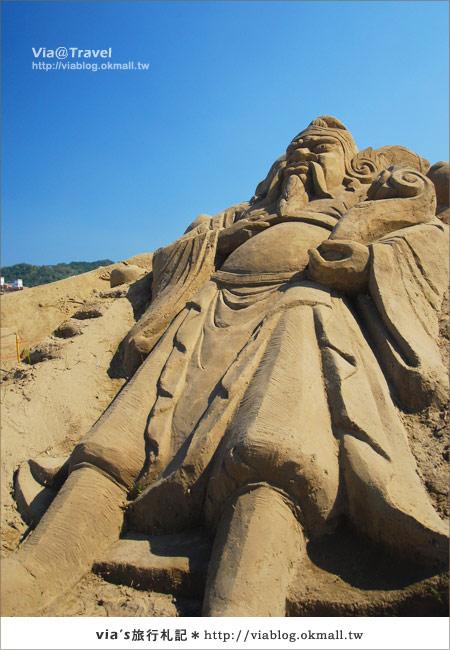 【2010春節旅遊】春節假期~南投市貓羅溪沙雕藝術節13