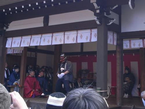 飛鳥坐神社(おんだ祭)@明日香村-08