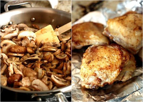 Madeira Chicken with Mushrooms