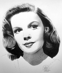 Judy Garland (pbradyart) Tags: portrait bw art pencil movie star sketch artwork pencildrawing judygarland moviestardrawing filmstardrawing judygarlandportrait judygarlanddrawing judygarlandpencildrawing