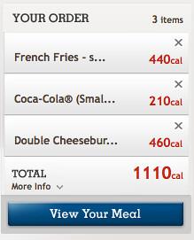 BK Kids Meal Option