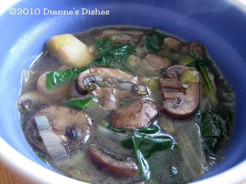 My Favorite Mushroom Soup
