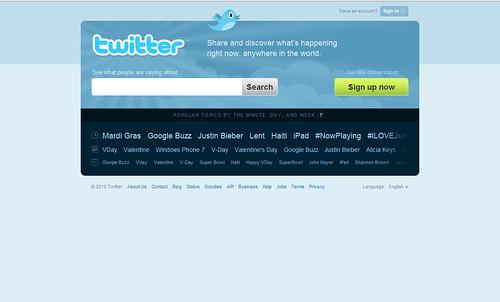 portal de twitter