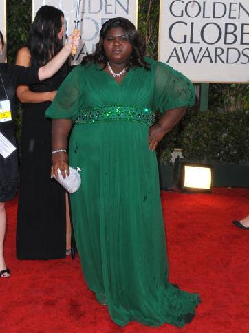 2010 Golden Globes - Gabourey Sidibe