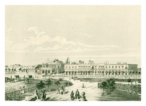 009-Cuba-Teatro de Tacon y parte del paseo de Isabel II-Álbum pintoresco de la Isla de Cuba- 1853