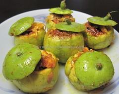Stuffed Tinda (Indian Apple Gourd) 2 of 2 (cookatease) Tags: food apple recipe stuffed indian gourd tinda cookatease