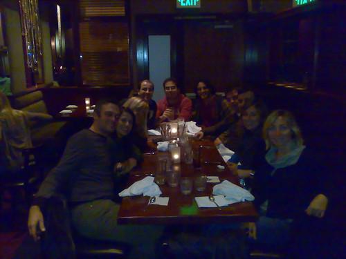 A cena con i ragazzi del Fullbright BEST