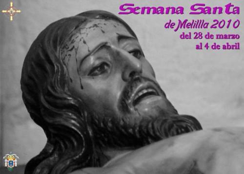 Cartel Semana Santa Melilla 2010  Cartel ganador. Autor Jose Francisco Linares Casas