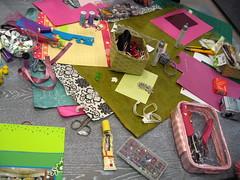taller scrapbook con Ftima Camolezzi (crea manualidades) Tags: lana patchwork manualidades labores creativo crea fieltro merceria