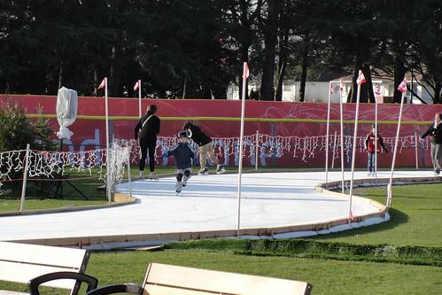 O Zone ice track