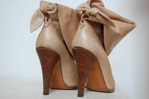 vintage Mignani boots (back)
