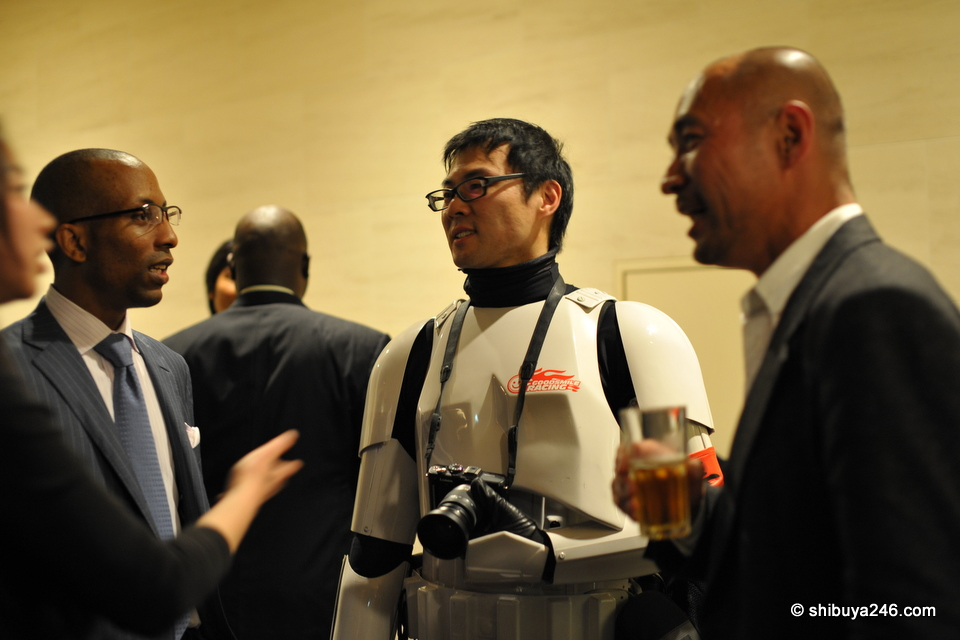 Danny Choo, aka Tokyo Stormtrooper was in attendance.