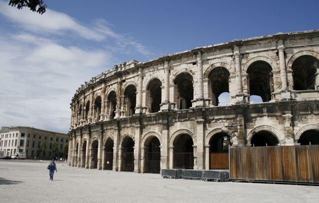 Les Arènes di Nîmes