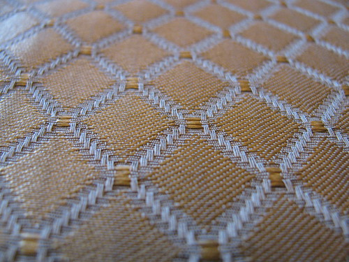 Gold Diamond Brocade