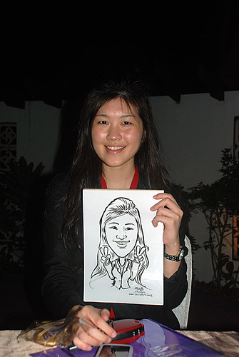 Caricature live sketching for Parkway Health - 6