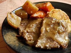 CSA Winter 4+5: Pot Roast With Polenta