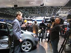 Opel Meriva auf dem Genfer Automobilsalon 2010