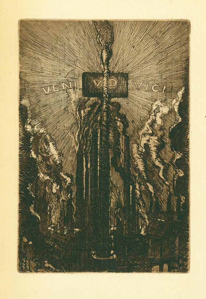 Cover illustration for Veni. VD. Vici. by C. Parmeggiani.