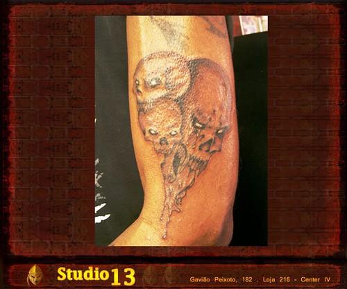 Caveira [4] - Studio 13 Tattoo Niterói