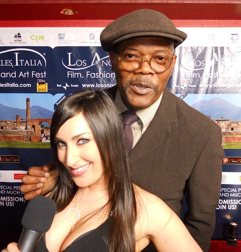 Samuel L. Jackson, Sheri Nadel - LA Italia - Film, Fashion And Art Festival - Mann's Chinese 6 Hollywood & Highland