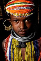 Bonda Girl (Leonid Plotkin) Tags: india girl asia tribal tribe orissa bonda onkadelli