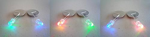 Crash Space LED art throwies