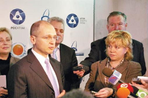 Вот таким увидели Сергея Кириенко калининградские журналисты