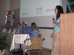 SphinnCon Israel 2010 Images - Vanessa Fox, Shira Abel, Gil Reich, Dan Gerstenfeld & Sam Michaelson on Online Reputation Management Panel