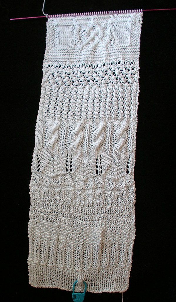 blocked on needles