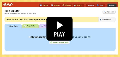 Rule Builder Screencast