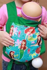 Michael Miller Mermaid Mei Tai for Children/Toddlers