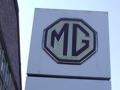 MG Motor UK Limited - sign