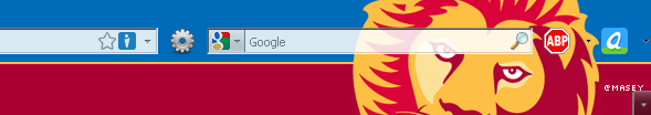 Brisbane Lions Firefox Persona for PC