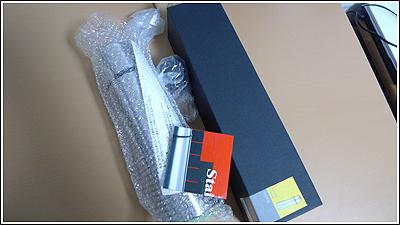 TROIKAサーモスボトルVAC33(Lenovoロゴ入り)が届いていました