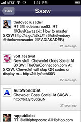 Collecta sxsw search (tofu) Tags:
