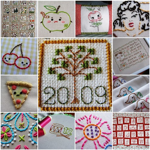a year in stitches--2009