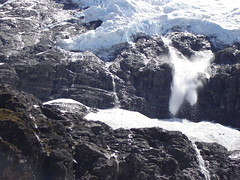 Ice Fall at Rob Roy Glacier