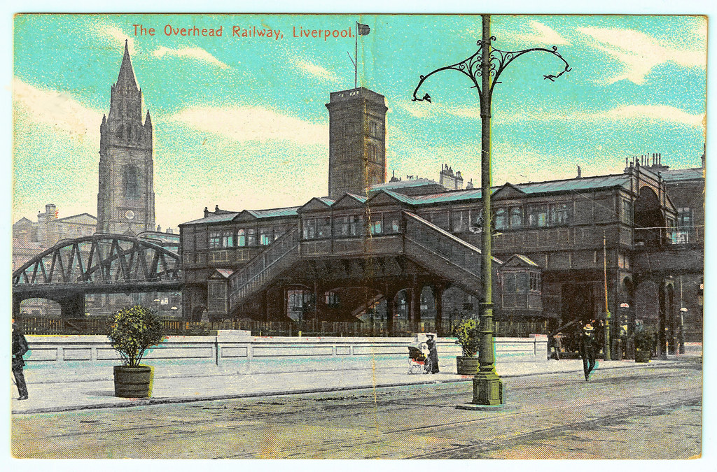 Liverpool - the overhead railway. And some interesting facts.