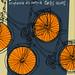 Lela anda en bicicleta adaptación do conto de Carlos Casares - Escola Superior de Arte Dramática de Galicia - Fundación Carlos Casares - 2010 - cartel de Iván R.