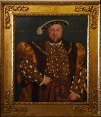 Holbein's Henry VIII with frame