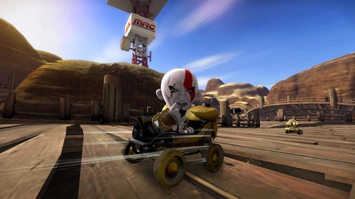 ModNation Racers Kratos Racing