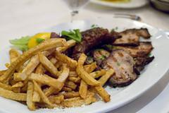 Lountza, Loukaniko, and Greek fries