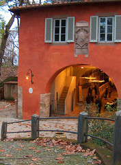 Baluardo San Regolo a Lucca Toscana