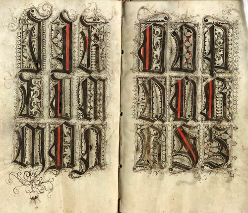 018-The Scribal Pattern Book of Gregorius Bock-1510-1517