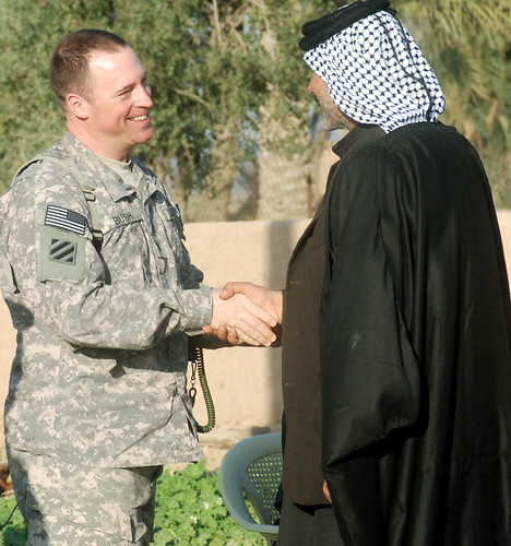 Rare Iraqi tribal honor bestowed to Soldier