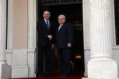 Συνάντηση με τον Πρόεδρο της Κυπριακής Δημοκρα...