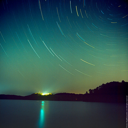 download this Star Tracks Hour Long Exposure picture
